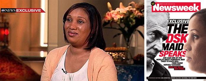 Les métamorphoses de Nafissatou Diallo