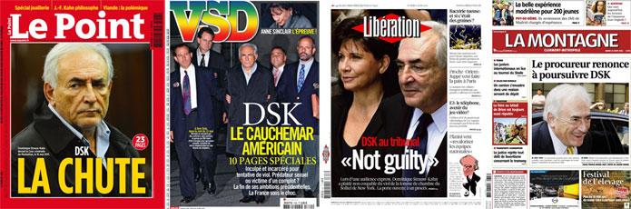 Le sourire de DSK, ou l'AFP au service de l'illustration