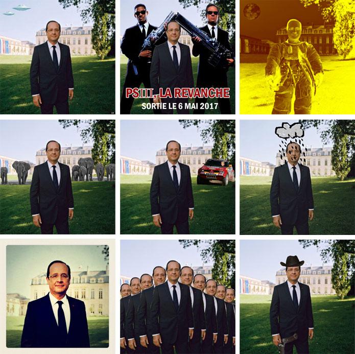 Hollande/Depardon, le baptême du mème