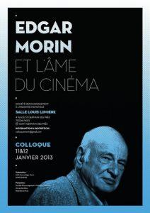 """Colloque """"Edgar Morin et l'âme du cinéma"""""""