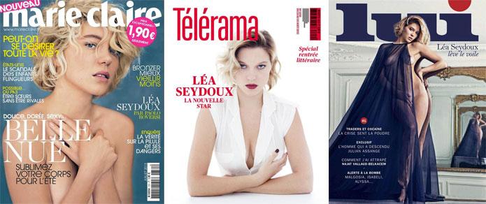 Léa Seydoux, fabrique d'une icône
