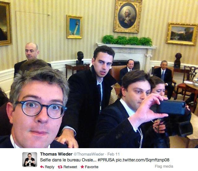 Le selfie, image iconoclaste