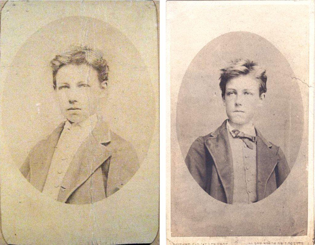 La posterisation d'Arthur Rimbaud