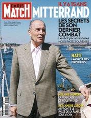 """""""Mitterrand est à la une de Match"""""""