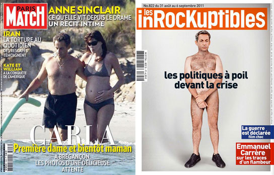 La disparition de Nicolas Sarkozy